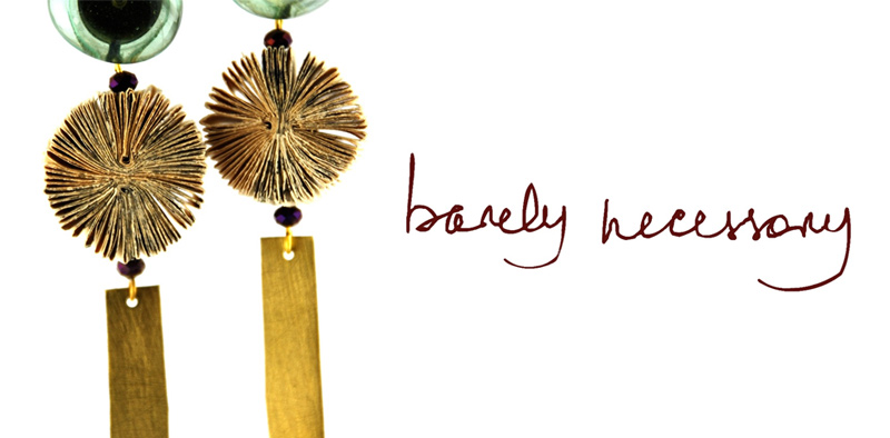 Barely Necessary - Paper Jewellery - Catalogue