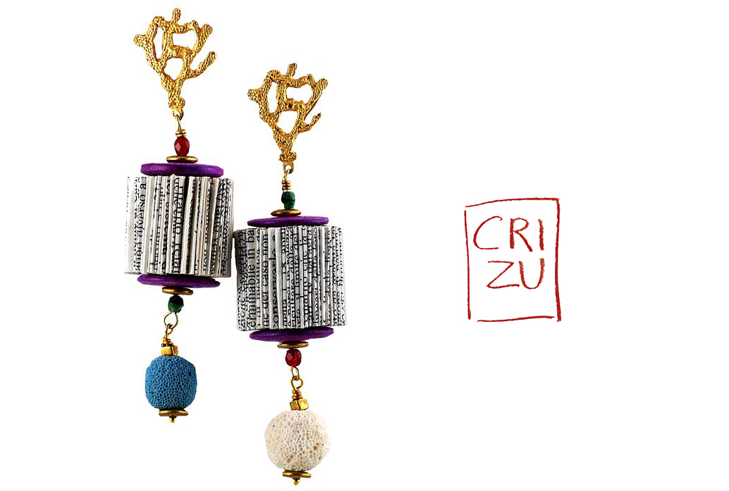 CRIZU_FOLDED _PAPER_JEWELLERY_DESIGN_HAND_MADE_ITALY_EARRING_CELESTE copy