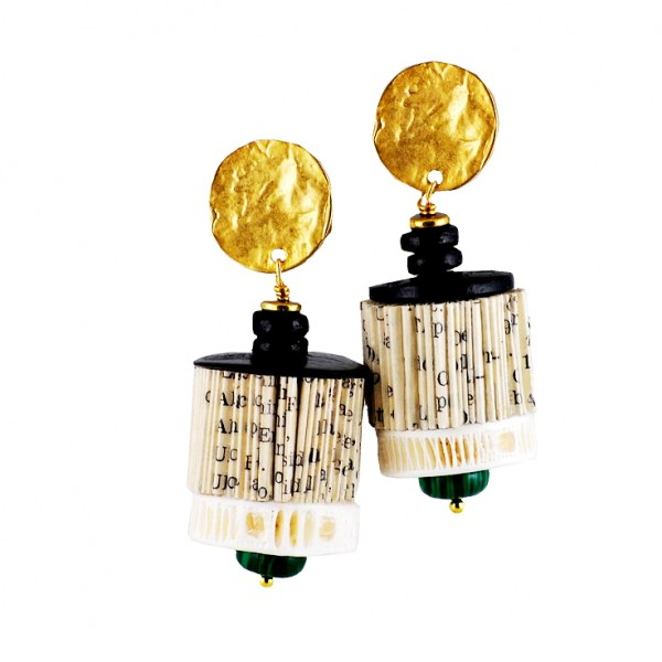 CRIZU_FOLDED_BOOKS_PAPER_EARRING_DESIGN_HAND_MADE_ITALY_ORSOLA_
